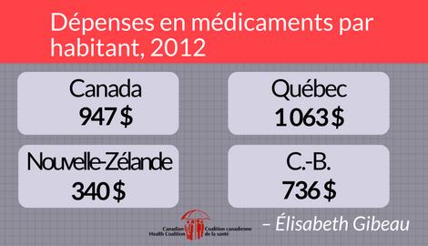 Trop de personnes ne peuvent payer les médicaments qui leur sont prescrits. Il est temps de mettre en place un régime national public d'assurance-médicaments.