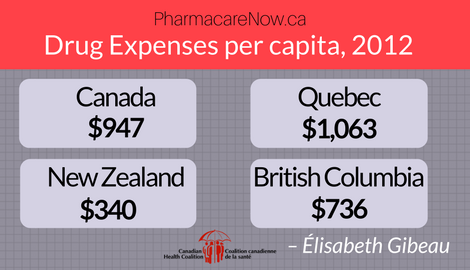 Too many people in Canada are unable to access or afford their medication. The solution is a comprehensive national public drug plan.